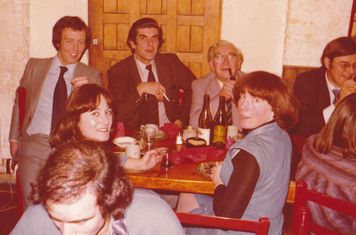 COXA Committee Dinner at 'Bistro Vino' 18/11/1977