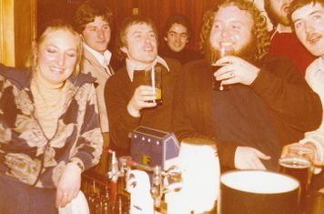 Boxing Day Celebrations at the 'Fellmongers Arms' 26/12/1976