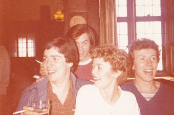 COXA Easter Tour to Great Yarmouth 17 - 20th April 1981. First pub stop.