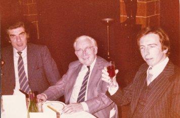AFA Annual Dinner: Derek Rowe, Don Mulvihill, Mick McGrath – 21.1.1978