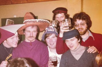 """Norbury """"Silly Hat"""" party 1.4.1978"""