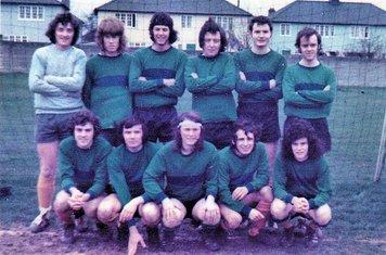 COXA 1st XI 1973 – Tim Kelly, King, Dave Burnham, Colin Garvey, Wilson Bowers, Tom Duffy – Paul Hixon, Faulker, Chez, John Mansi, Keith McElligott.