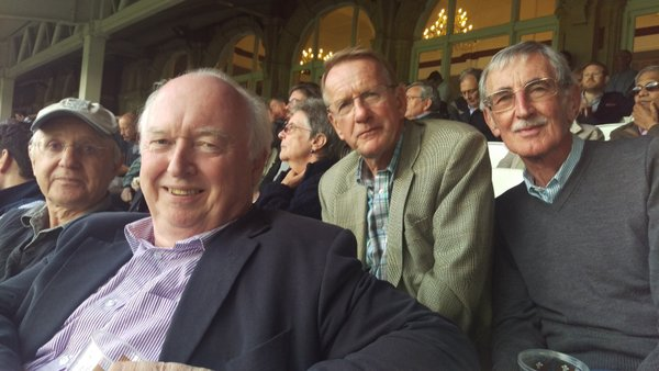 Old boys at the oval Surrey V Kent London cup 2015