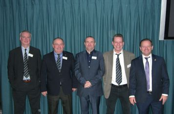 Five Williams brothers together for the first time at the Chairman's Lunch
