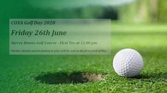 COXA Golf Day 2020