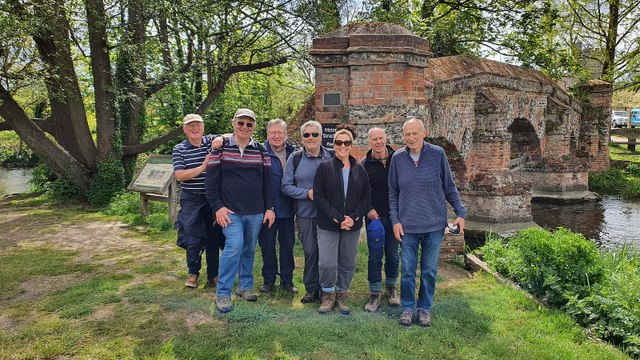 Darent Wall Walk - Completed