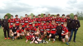 Chippenham RFC Under 16's Dorset and Wiltshire Champions 2016-2017