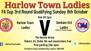 Lady Hawks in FA Cup action