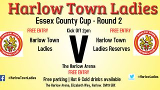 Harlow Ladies Take on Ladies Reserves in Essex County Cup