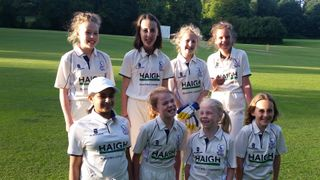U12 girls lose to a very strong Harpenden