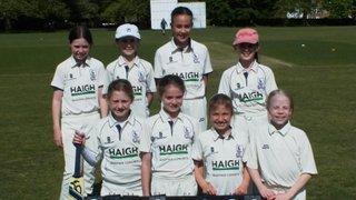 Bishop's Stortford U12 girls win their first leage game