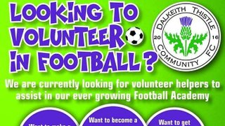 ⚽️⚽️VOLUNTEER COACHES WANTED ⚽️⚽️