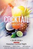 Cocktail Night - Saturday, 29th September