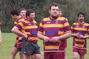 Tom Hardman looking pensive before kick off