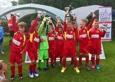 United's U7's win the Easington Tournament 2017