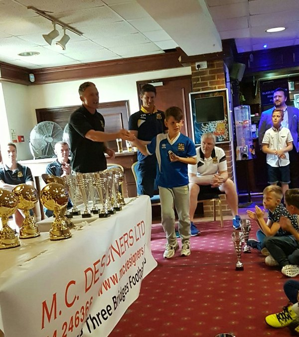 End of season award ceremony
