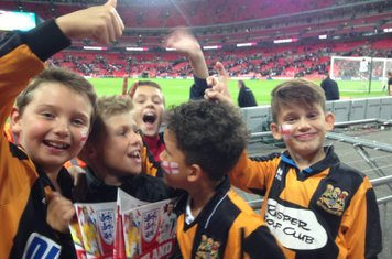 The boys at wembley
