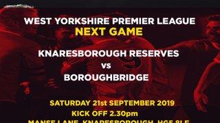 21.9.19 - Knaresborough Reserves v Boroughbridge