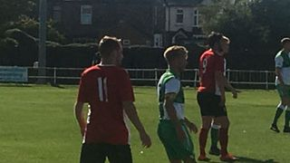 14.9.19 -  Knaresborough through in the FA Vase after battling win at Billingham Sythonia