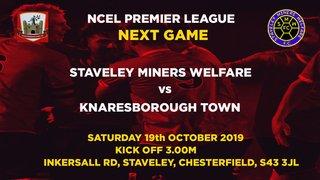 Staveley Miners Welfare v Knaresborough Town