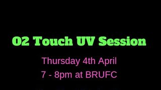 O2 Touch UV Session