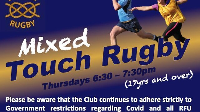 Rugby currently on offer at BRUFC