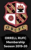 Orrell RUFC Club Membership 2019-2020 Season