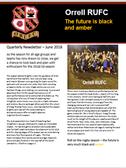 Orrell RUFC June 2018 Newsletter