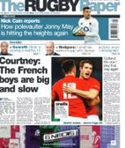 We're certainly making the news at the moment ... The Rugby Paper features  Orrell RUFC