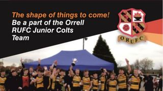 The shape of things to come – be a part of the Orrell RUFC Junior Colts Team