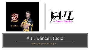 Robert Lee & AJL Dance join our line up of Player Sponsors