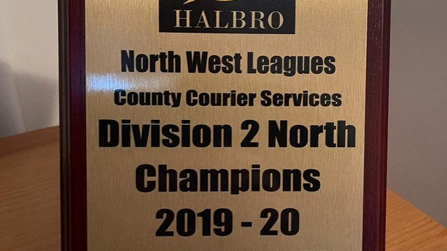 Orrell 2XV Champions of North West Leagues County Courier Services Division 2 North