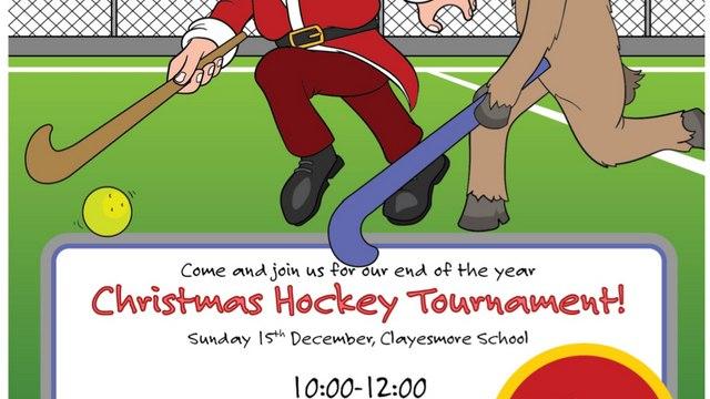Christmas Fun Family Hockey Tournament Sunday 15th December 10am-12pm