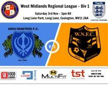 Sikh Hunters 5-0 Wrens Nest