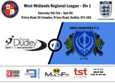 Team Dudley 1-1 Sikh Hunters