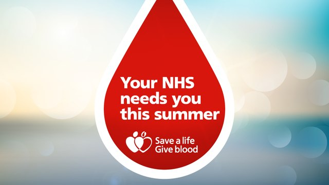 Give Blood At Brantingham Park - Book Today