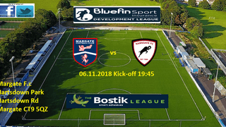 6 Nov: Margate U23s 0-4 Rams