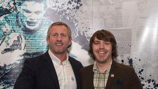 Bury Broncos chairman Ryan Lewis named RFL's volunteer of the year