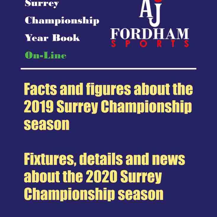 Surrey Championship Year Book 2020