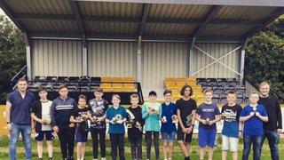 Racing Club Warwick U13s presentation