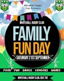 FREE Family Fun Day Saturday 21st September 2019