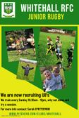 Juniors Rugby are Recruiting!!