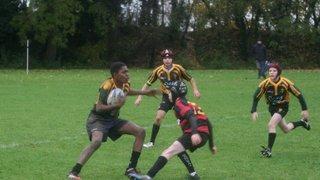 U13s Titans V Bury St. Edmunds 20.11.16