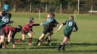 Wymondham Titans U13s V North Walsham 2/12/16