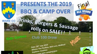 Club BBQ and Camp over