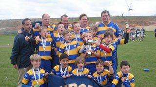 """Chipstead U10s (""""Exiles"""") Blues team win Saracens Alan Day Volkswagen Cup"""