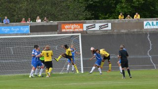 1st Team v AFC Rushden and Diamonds - 13th August 2016