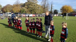 Under 7's v Elvington Harriers at Stocking Lane