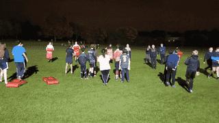 Midweek Juniors' Training