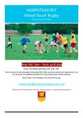 Communal Mixed Touch Rugby